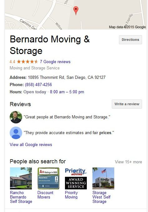 Searching for A Moving Company with Google?